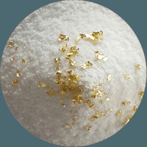 KRAFTSALZ CLASSIC - Reines Schweizer Salz – ohne Zusatzaromen. Das Kraftsalz Classic mit Blattgold veredelt, ist zu 100g Glasdose erhältlich.
