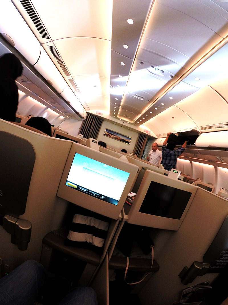 Etihad Pearl Business Class, Airbus 330-200
