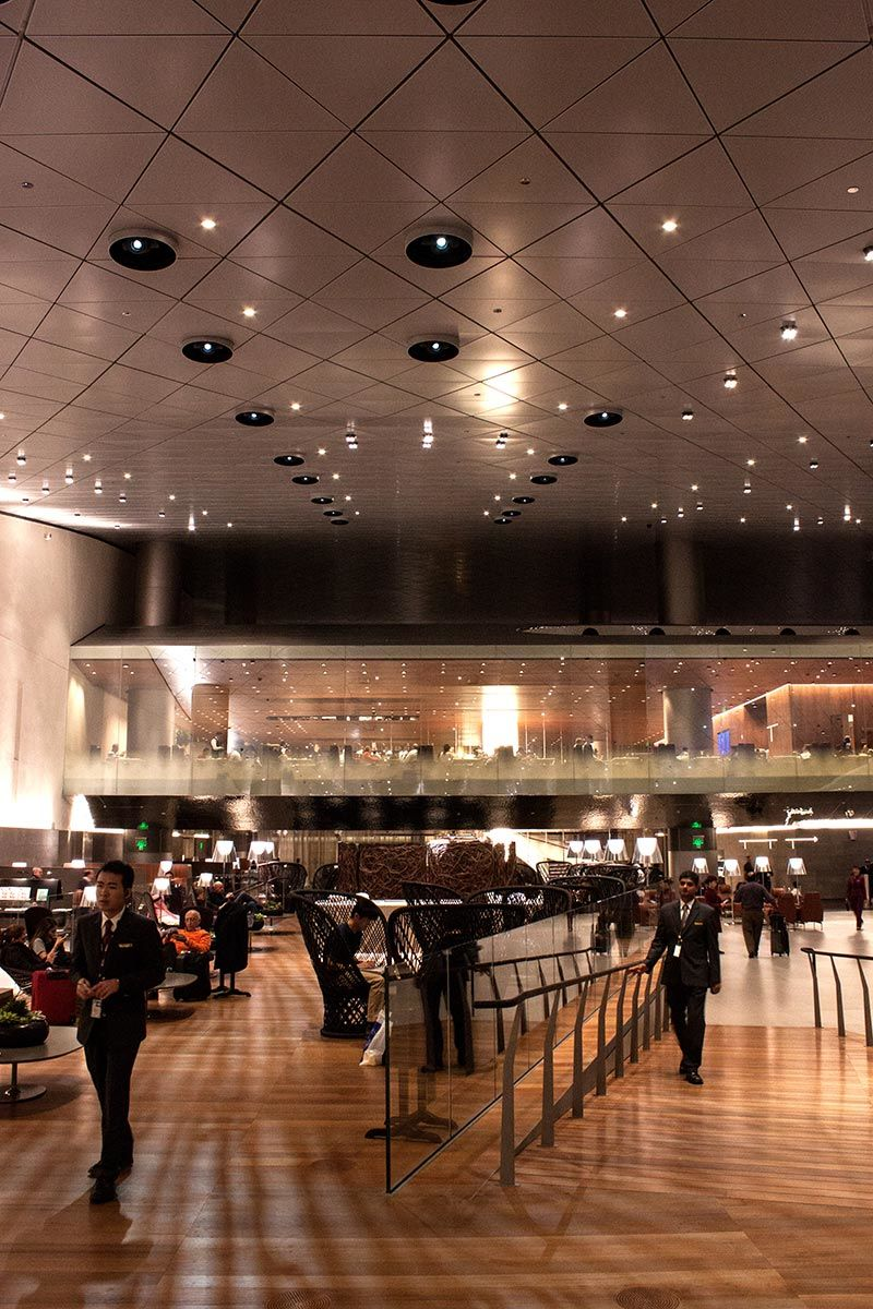 Flughafenlounges - Business Lounge, Doha