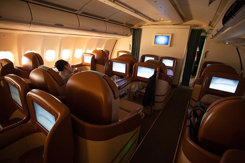 Oman Air, Business Class