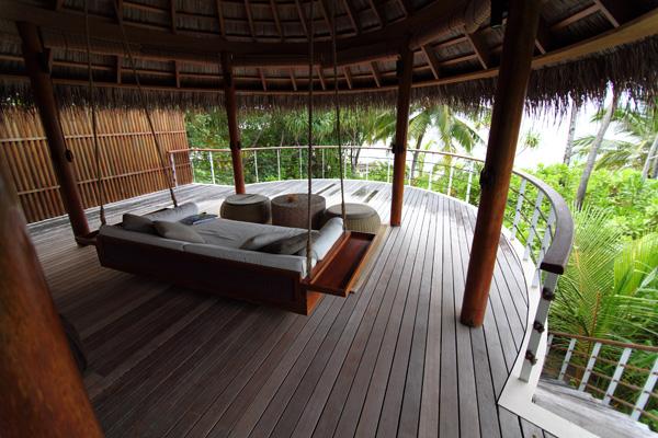 W Retreat and Spa Malediven - Dachgeschoss mit Liege... Geniess das Nichtstun.
