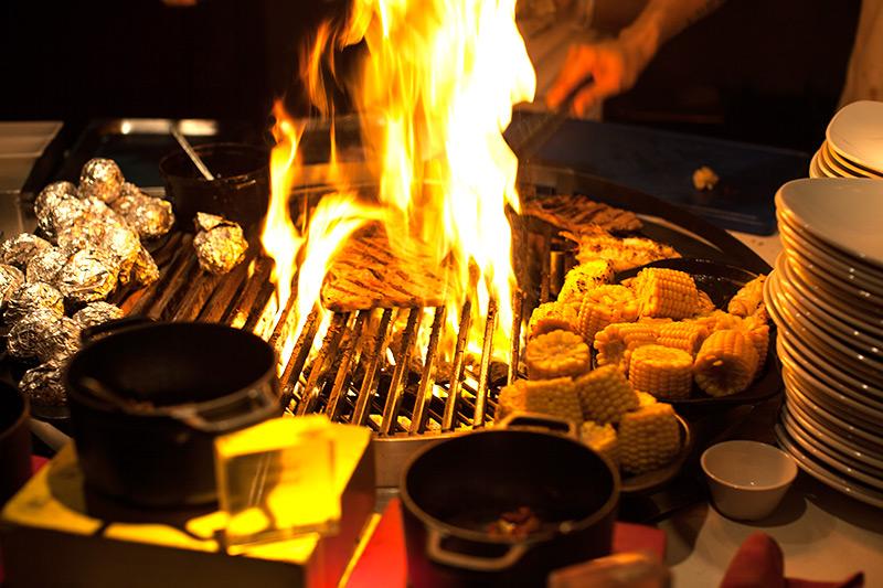 Grill Restaurant W Retreat and Spa, Malediven